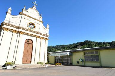 Igreja Nossa Senhora das Neves Linha 40 fonte www.caxias.rs.gov.br