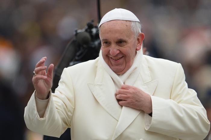 Papa Francisco Foto Vincenzo Pinto AFP.JPG